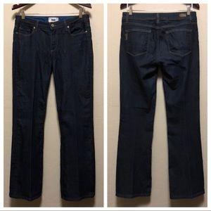 Paige Skyline Boot Dark Wash Jeans